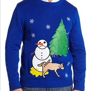 Other - Unisex sad snowman ugly Christmas sweater